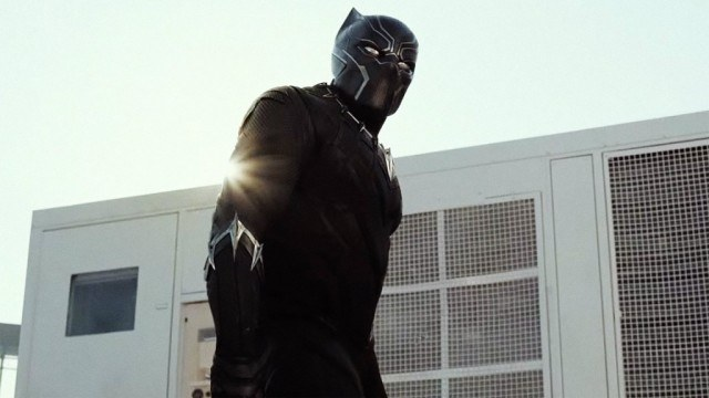 Chadwick Boseman in 'Captain America: Civil War'