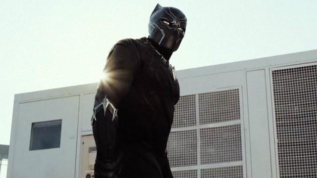 Chadwick Boseman in 'Captain America: Civil War'