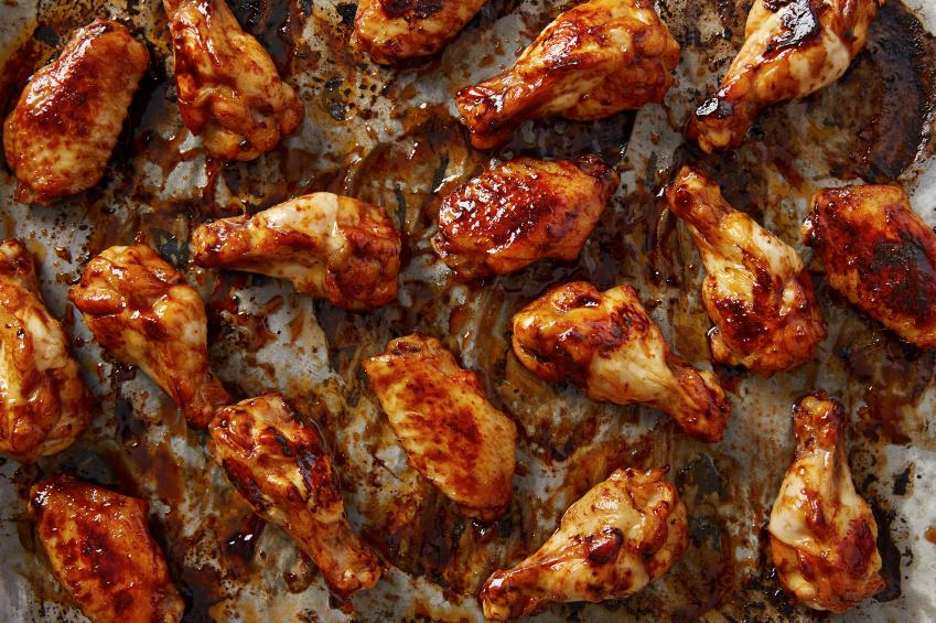 sriracha chicken wings