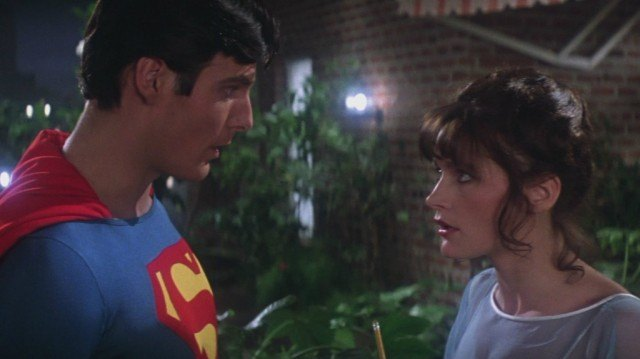 Christopher Reeve and Margot Kidder in 'Superman: The Movie'
