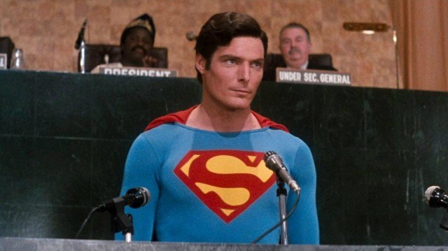 Christopher Reeve in Superman IV: The Quest for Peace