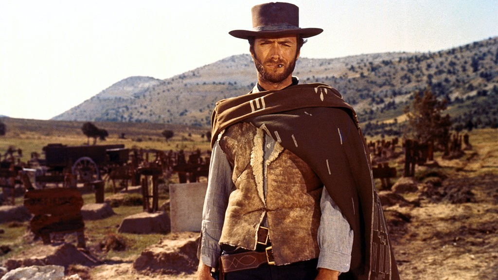 Clint Eastwood in 'The Good, the Bad and the Ugly'