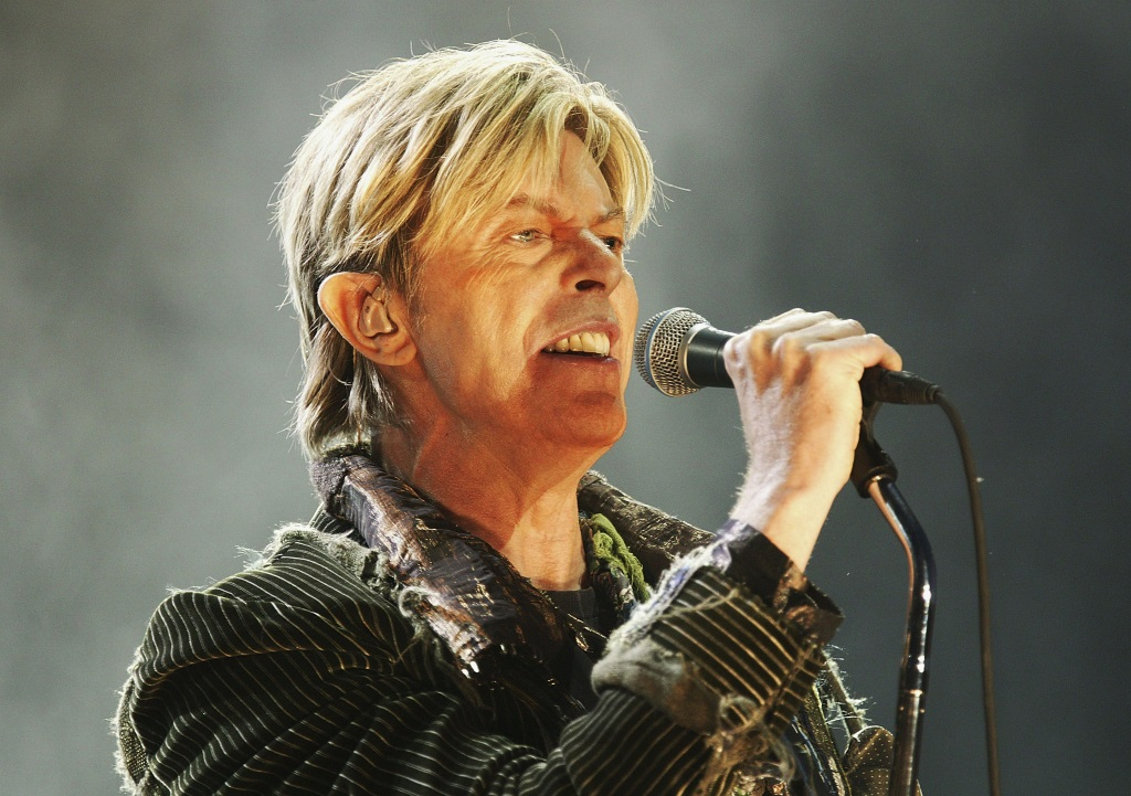 David Bowie performs