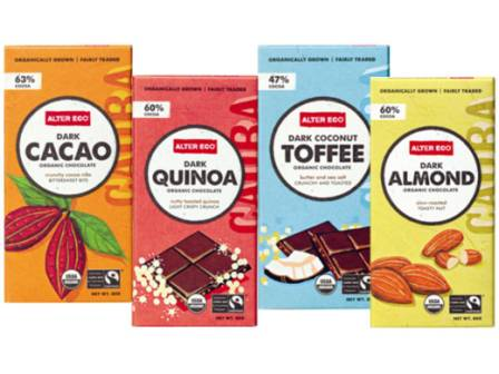 Fairtrade chocolate Almond Cacao Toffee quinoa