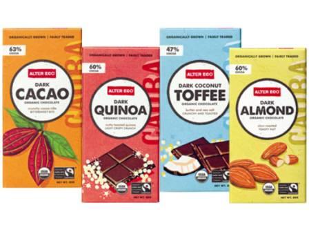 Fairtrade chocolate Almond Cacao Toffee quinoa
