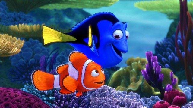 Marlin and Dory in Finding Nemo | Pixar