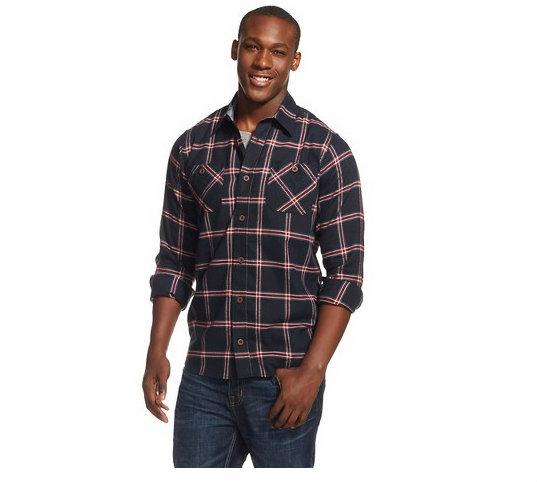 Wrangler Men's Flannel Shirt