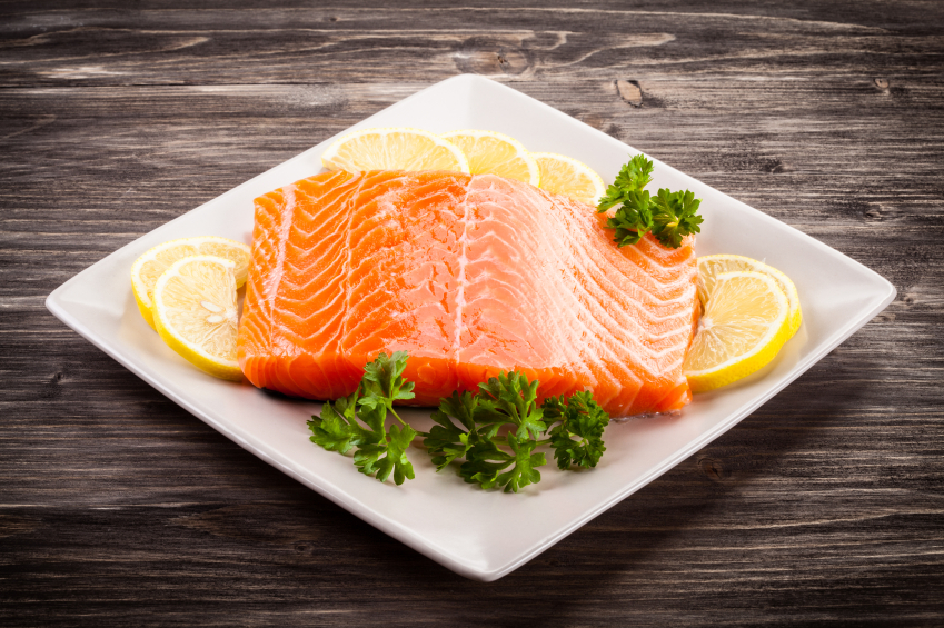 Fatty fish can help fight inflammation.