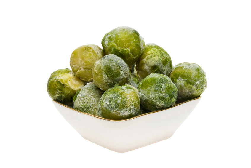 frozen Brussels sprouts