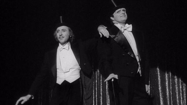 Gene Wilder and Peter Boyle in Young Frankenstein