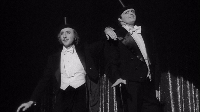Gene Wilder and Peter Boyle in Young Frankenstein