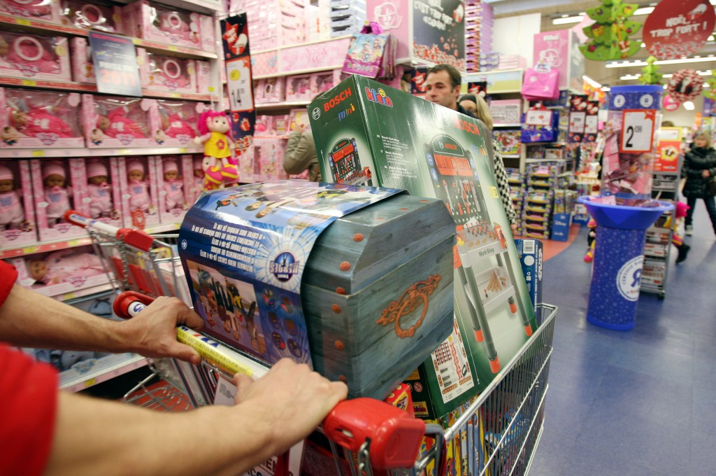 Shopping for more toys
