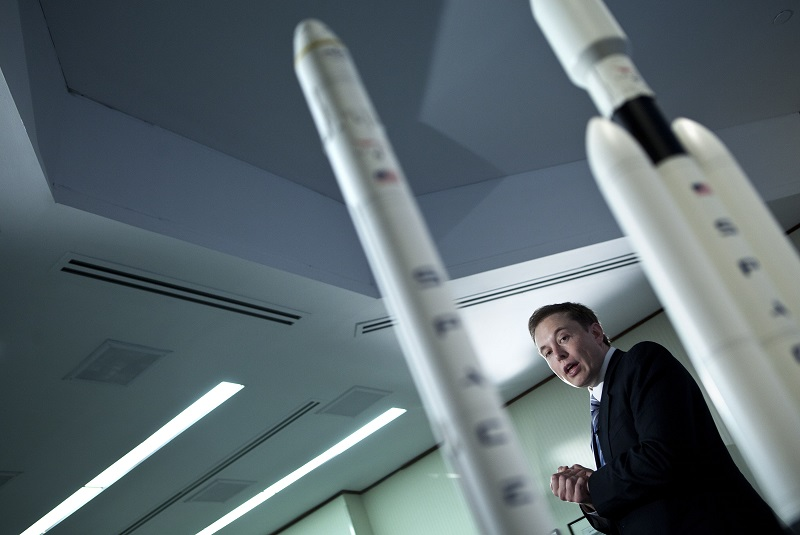 Elon Musk talks about SpaceX technology