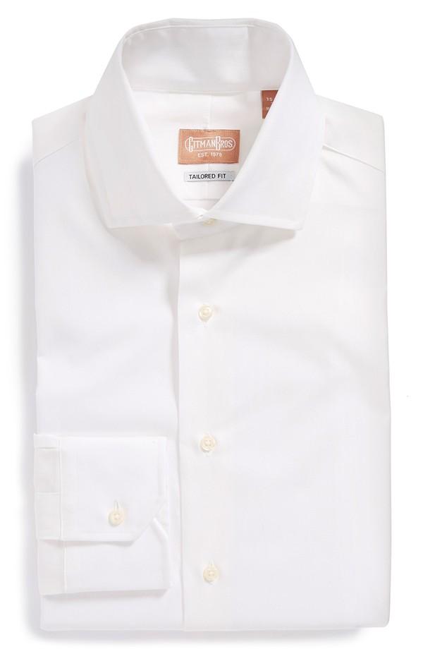 Gitman tailored fit dress shirt