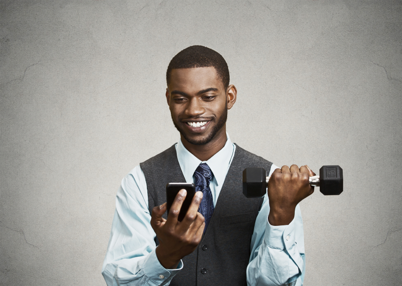 social media and weight lifting