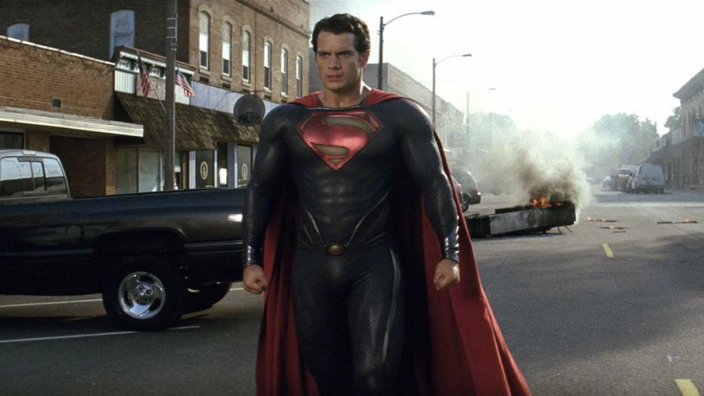 Henry Cavill in 'Man of Steel'