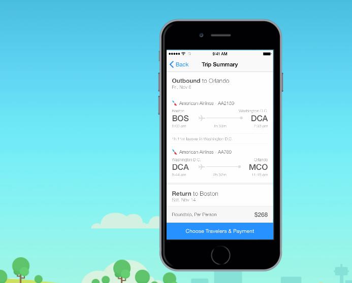 Hopper app for iPhone