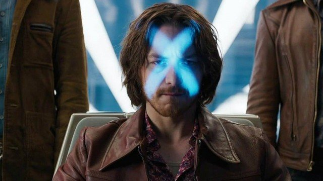 James McAvoy in X-Men: Days of Future Past