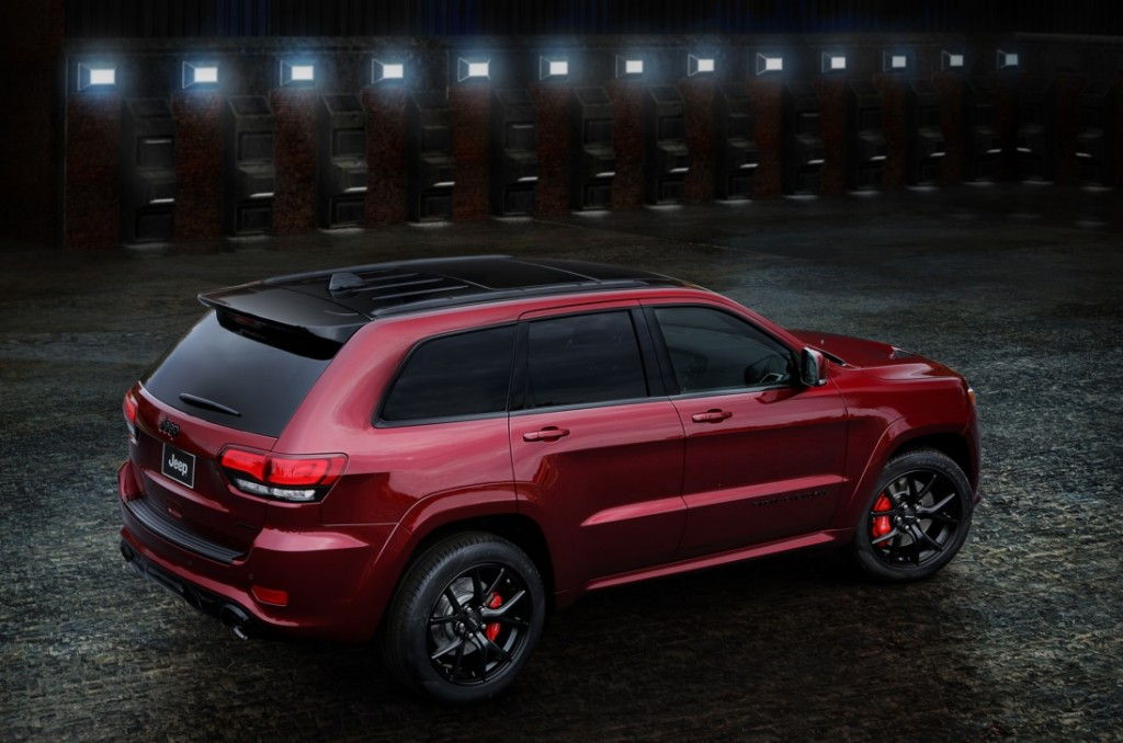 The 2016 Jeep Grand Cherokee SRT Night Edition