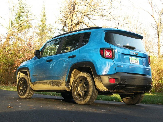 Jeep's affordable four-wheel drive retro machine: The Renegade