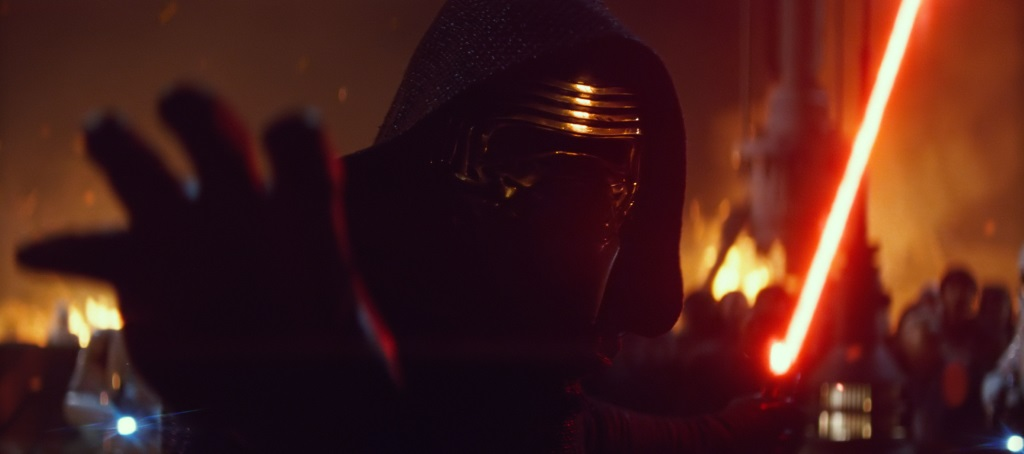 Kylo Ren in The Force Awakens | Lucasfilm