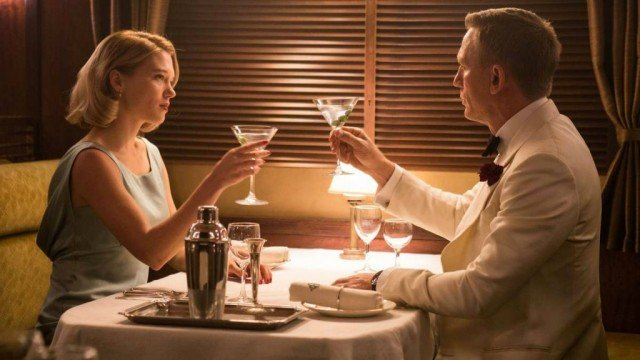 Lea Seydoux and Daniel Craig in 'Spectre'