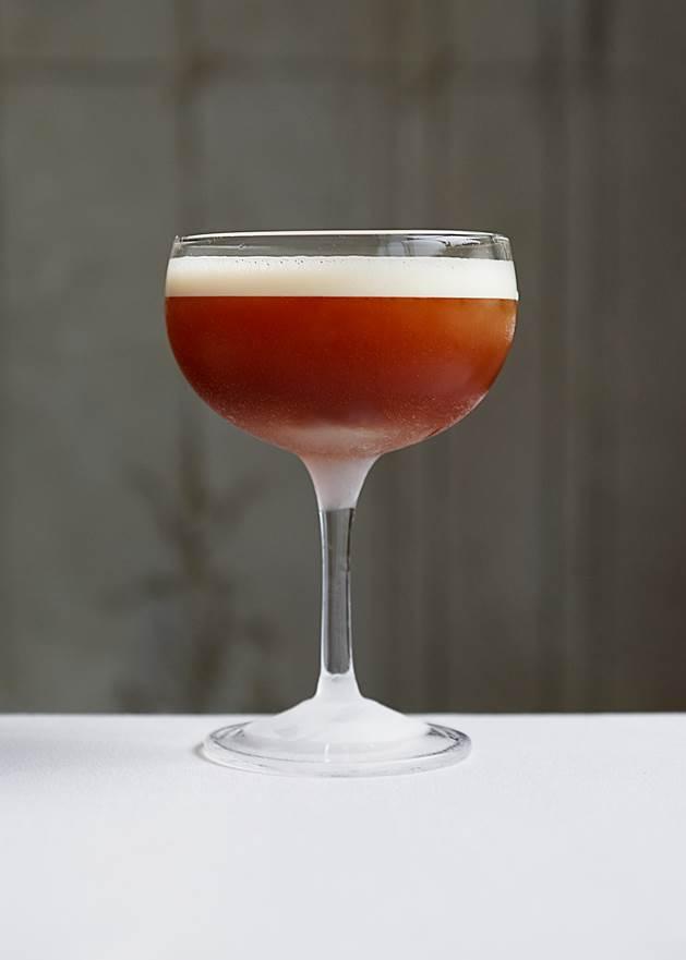 Macchu Pisco Cocktail from Betony - BeatTheDevil BetonyFall2015