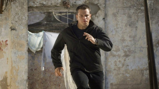 Matt Damon in 'The Bourne Ultimatum'