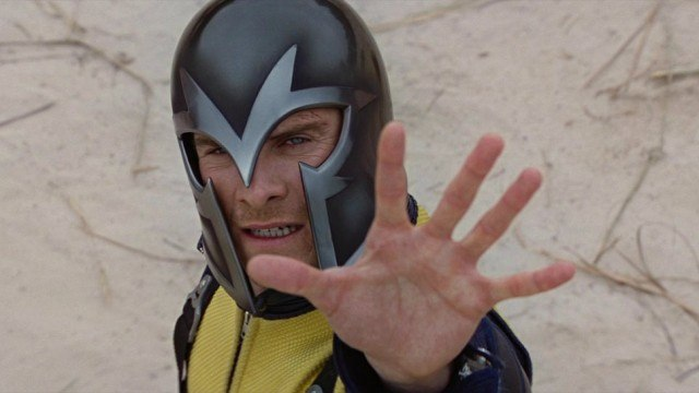Michael Fassbender in X-Men: First Class