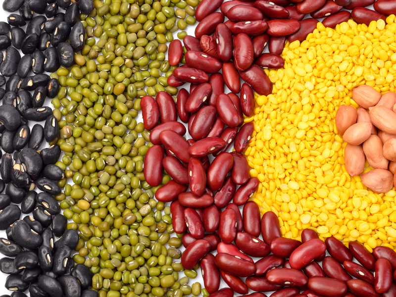 Beans, peas, and legumes