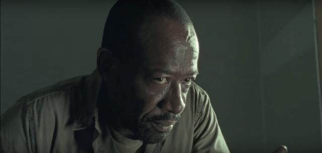 Morgan (Lennie James) in a scene from Season 6 of 'The Walking Dead'