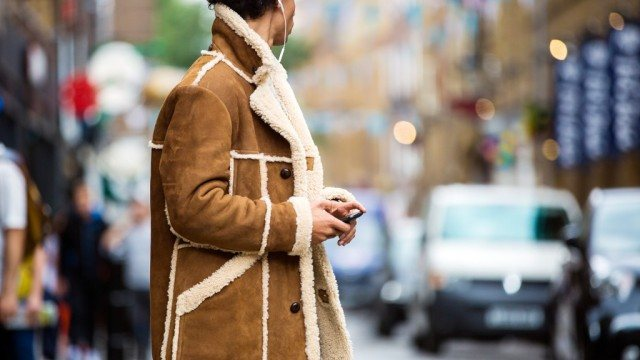 Mr. Porter Tom Ford suede and shearling jacket