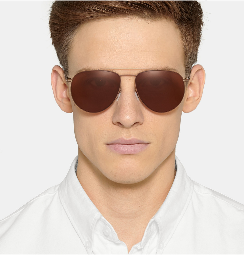 Mykita aviator sunglasses Mr. Porter