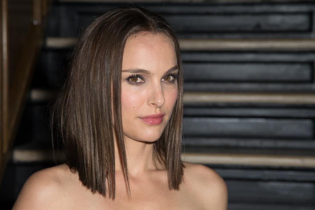 Natalie Portman looks ahead