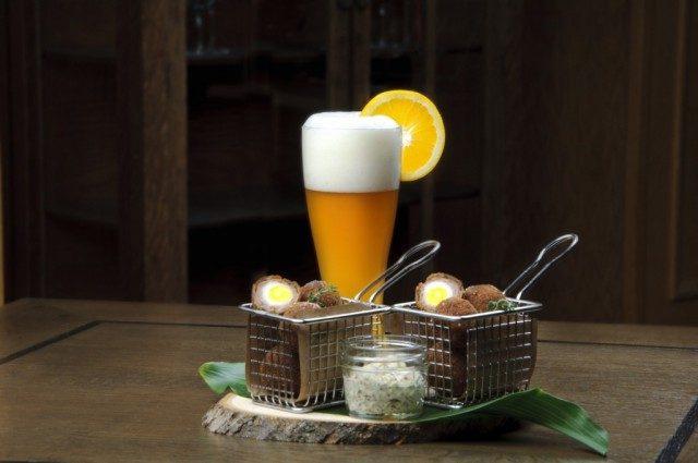 Omni Grove Park Inn Beer and food