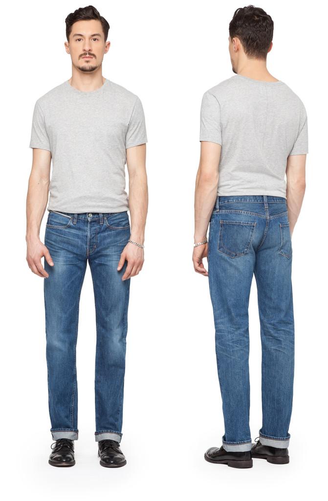 Paper Denim & Cloth Slim Straight Jeans