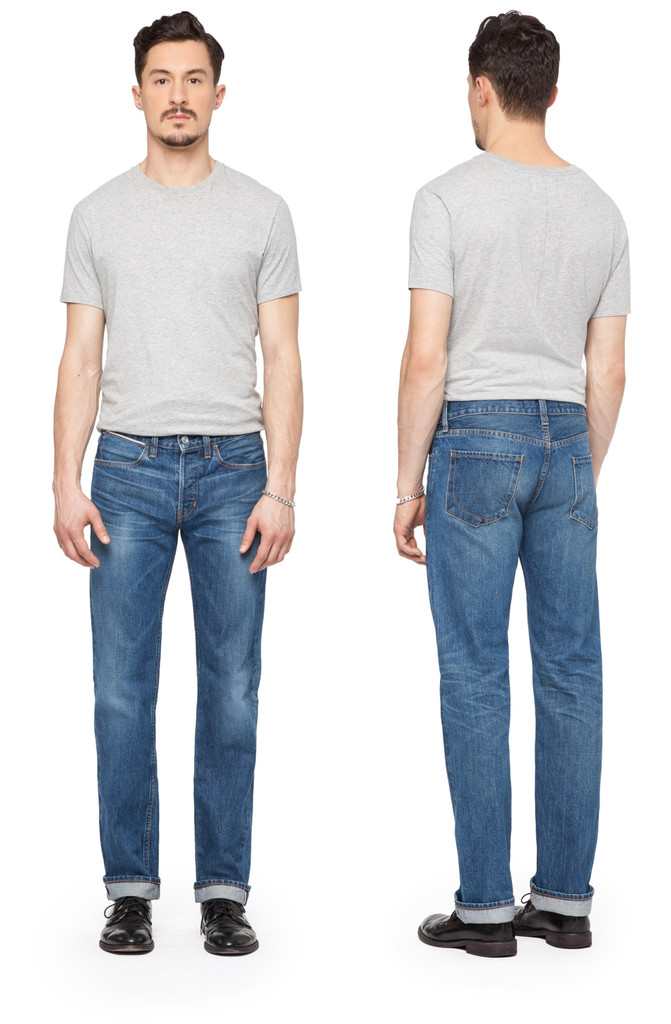 Paper Denim & Cloth Slim Straight Jeans