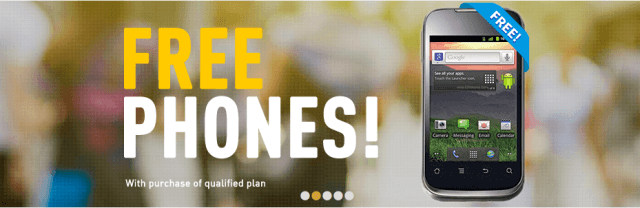 PTel free phones promotion
