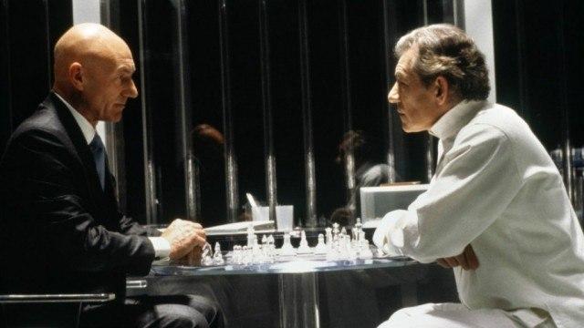 Patrick Stewart and Ian McKellen in X-Men