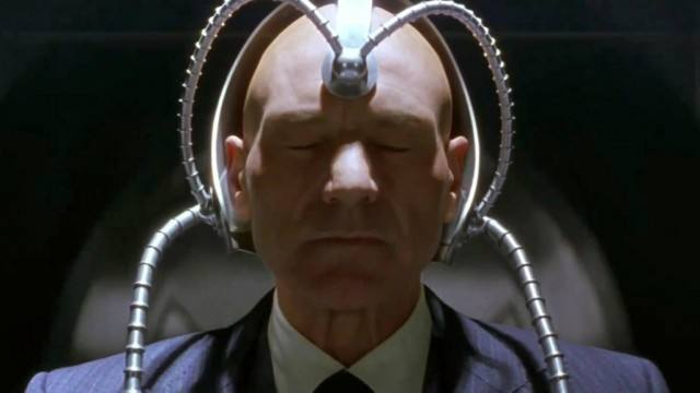 Patrick Stewart as Charles Xavier in X-Men