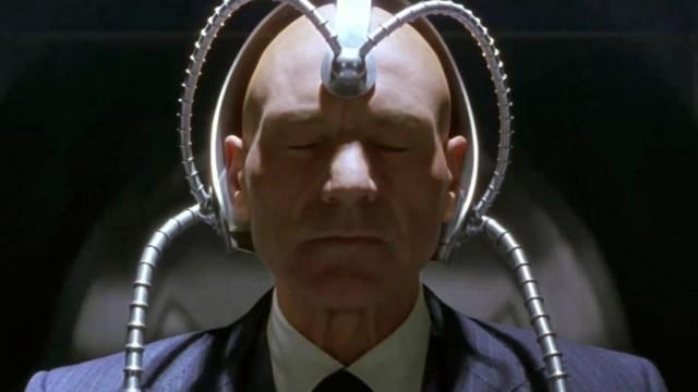 Patrick Stewart as Charles Xavier in X-Men