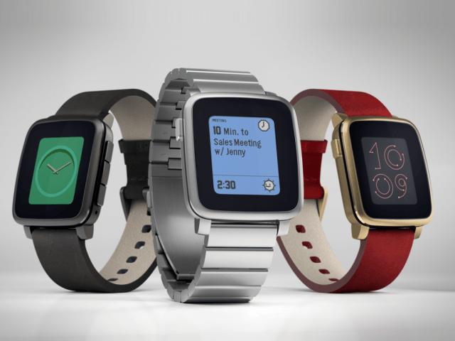 Pebble Time Kickstarter campaign