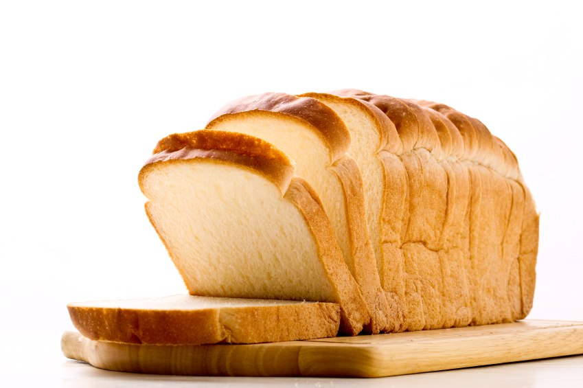 loaf of sliced bread