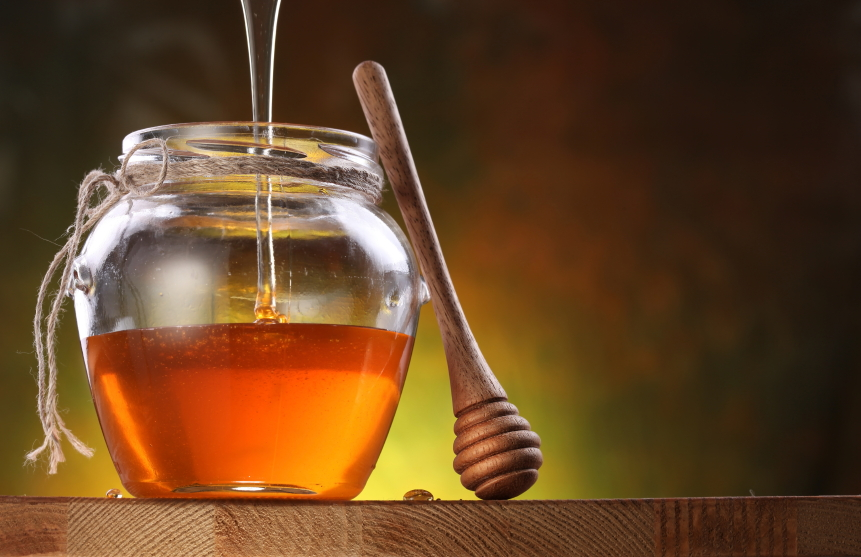 honey is one of several kitchen staples that doubles as grooming products