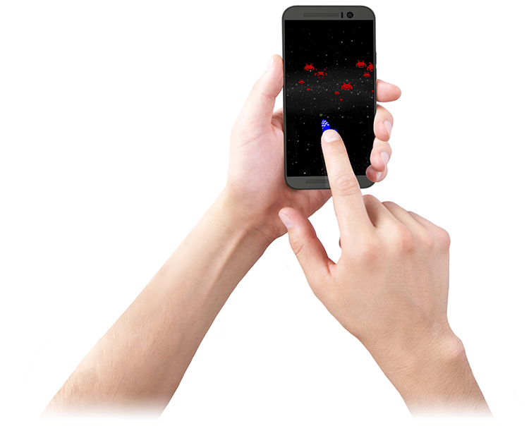 Qeexo FingerAngle touchscreen technology