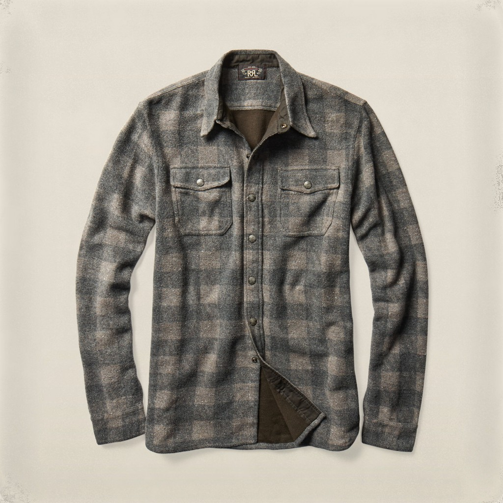 RRL checked workshirt
