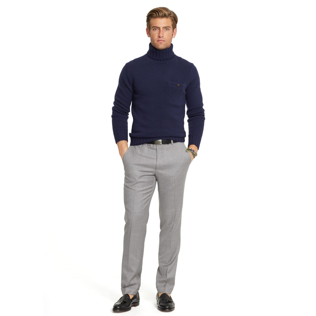 Ralph Lauren wool twill trousers