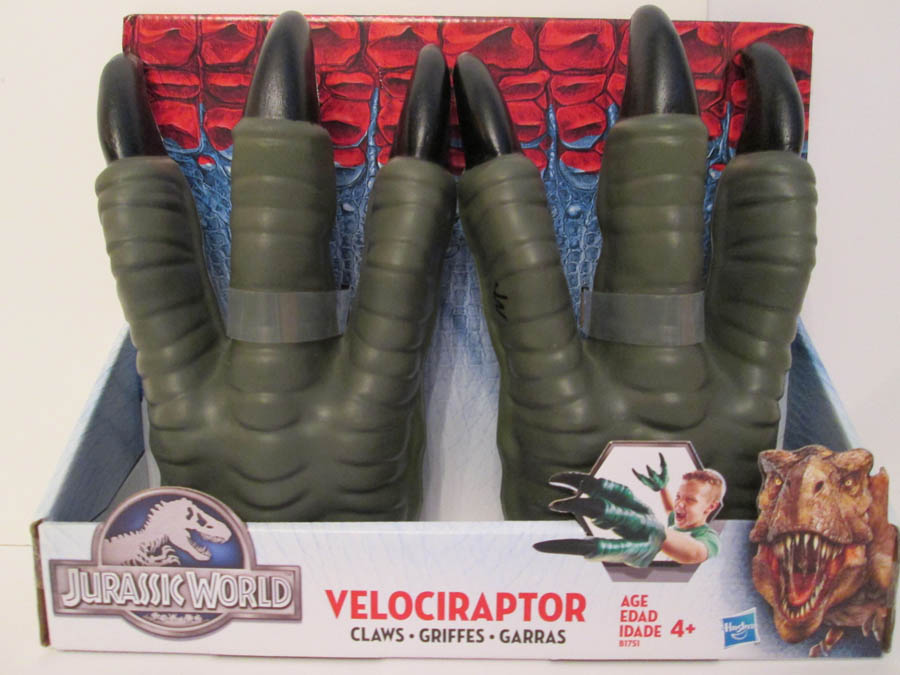 jurassic world raptor claws