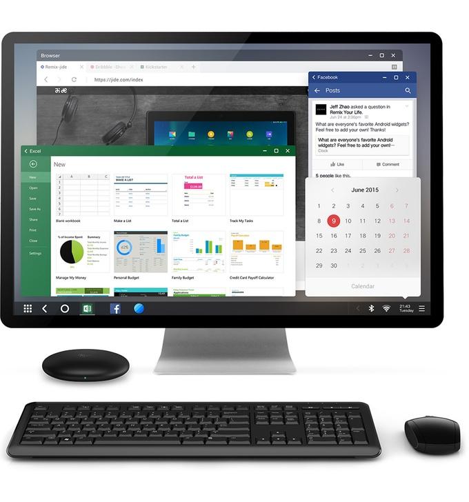 Remix Mini Android PC Kickstarter project