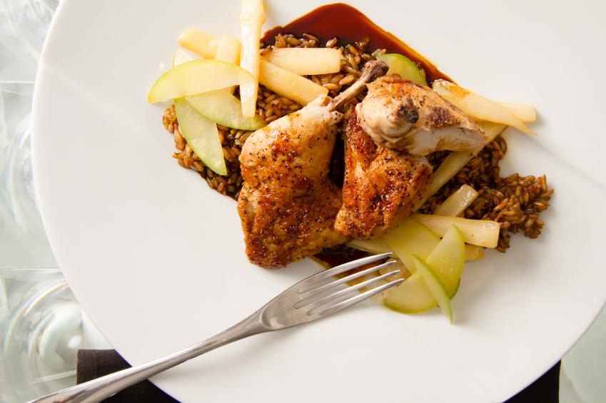 roast cornish game hen